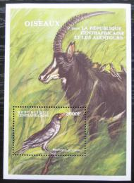 Poštovní známka SAR 2000 Africká fauna Mi# Block 639 Kat 9€