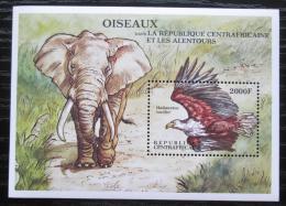 Poštovní známka SAR 2000 Africká fauna Mi# Block 640 Kat 9€