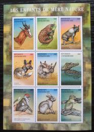 Poštovní známky SAR 2001 Africká fauna Mi# 2700-08 Kat 13€