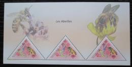 Poštovní známky Guinea 2011 Vèely Mi# Block 1984 Kat 18€
