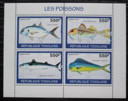 Poštovní známky Togo 2010 Ryby Mi# 3414-17 Bogen Kat 8.50€