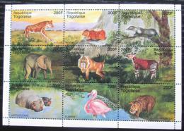 Poštovní známky Togo 1995 Africká fauna Mi# 2307-15