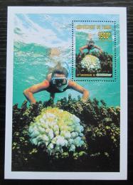 Poštovní známka Èad 1996 Potápìní, Greenpeace Mi# Block 260 Kat 9.50€