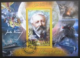 Poštovní známka Pobøeží Slonoviny 2013 Jules Verne Mi# N/N
