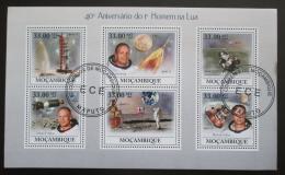 Poštovní známky Mosambik 2009 První let na Mìsíc, 40. výroèí Mi# 3455-60 Kat 10€
