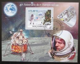 Poštovní známka Mosambik 2009 První let na Mìsíc Mi# Block 287 Kat 10€