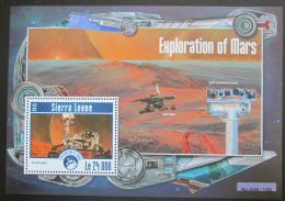 Poštovní známka Sierra Leone 2015 Prùzkum Marsu Mi# Block 789 Kat 11€