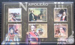 Poštovní známky Mosambik 2012 Napoleon III. Mi# 5505-10 Kat 14€
