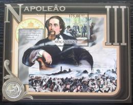 Poštovní známka Mosambik 2012 Napoleon III. Mi# Block 590 Kat 10€