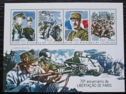 Poštovní známky Guinea-Bissau 2014 Osvobození Paøíže Mi# 7286-89 Kat 13€