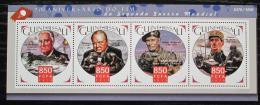 Poštovní známky Guinea-Bissau 2015 Konec války, 70. výroèí Mi# 8376-79 Kat 13€