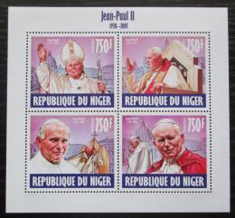 Poštovní známky Niger 2013 Papež Jan Pavel II. Mi# 2486-89 Kat 12€
