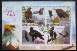 Poštovní známky Burkina Faso 2015 Orli Mi# N/N