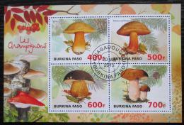 Poštovní známky Burkina Faso 2015 Houby Mi# N/N