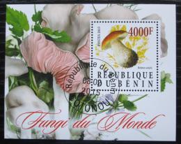 Poštovní známka Benin 2015 Houby Mi# N/N