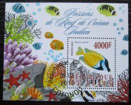 Poštovní známka Benin 2015 Ryby Mi# N/N