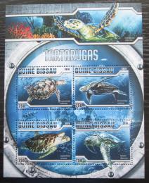 Poštovní známky Guinea-Bissau 2016 Želvy Mi# 8599-8602 Kat 11€