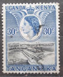 Poštovní známka K-U-T 1954 Pøehrada Mi# 96