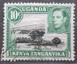Poštovní známka K-U-T 1950 Jezero Naivasha Mi# 56 C