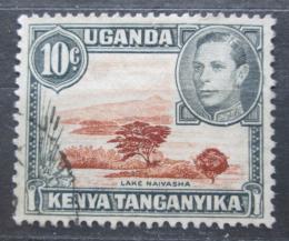 Poštovní známka K-U-T 1952 Jezero Naivasha Mi# 57