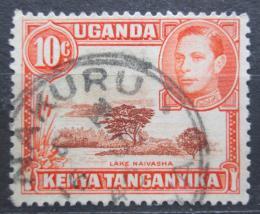 Poštovní známka K-U-T 1938 Jezero Naivasha Mi# 55 A