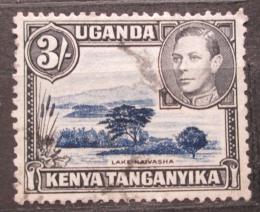 Poštovní známka K-U-T 1950 Jezero Naivasha Mi# 68 C