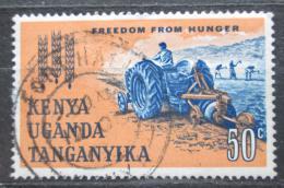 Poštovní známka K-U-T 1963 Boj proti hladu, traktor Mi# 126