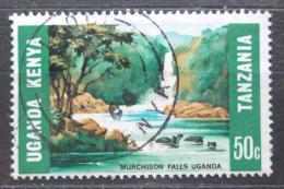 Poštovní známka K-U-T 1966 Vodopády Murchison Mi# 149