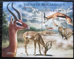 Poštovní známka Mosambik 2011 Antilopy Mi# Block 510 Kat 10€
