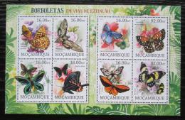 Poštovní známky Mosambik 2012 Motýli Mi# 5656-63 Kat 16€