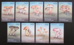 Poštovní známky SAR 1999 Houby Mi# 2293-2301 Kat 15€