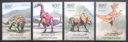 Poštovní známky SAR 2012 Dinosauøi Mi# 3652-55 Kat 16€