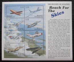 Poštovní známky SAR 2000 Historie letectví Mi# 2482-89 Kat 19€