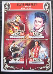 Poštovní známky Niger 2016 Elvis Presley Mi# 4317-20 Kat 12€
