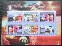Poštovní známky Guinea 2007 Robert Oppenheimer Mi# 5277-82 Kat 8.50€