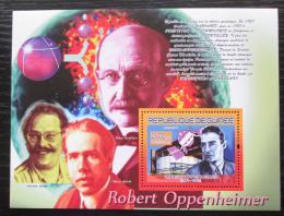Poštovní známka Guinea 2007 Robert Oppenheimer Mi# Block 1474 Kat 7€
