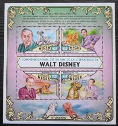 Poštovní známky Niger 2016 Walt Disney Mi# 4062-65 Kat 14€
