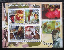 Poštovní známky Svatý Tomáš 2008 Umìní, Edgar Degas Mi# 3731-34 Kat 12€