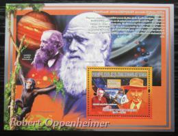 Poštovní známka Guinea 2007 Robert Oppenheimer Mi# Block 1475 Kat 7€