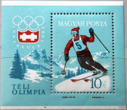 Poštovní známka Maïarsko 1964 ZOH Innsbruck Mi# Block 40
