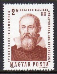 Poštovní známka Maïarsko 1964 Galileo Galilei Mi# 2023