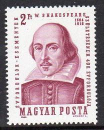 Poštovní známka Maïarsko 1964 William Shakespeare Mi# 2028