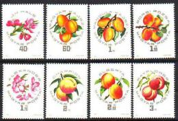 Poštovní známky Maïarsko 1964 Meruòky Mi# 2044-51
