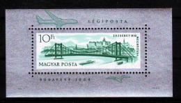 Poštovní známka Maïarsko 1964 Alžbìtin most Mi# Block 45