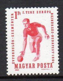 Poštovní známka Maïarsko 1964 ME v kuželkách Mi# 2041