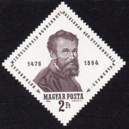 Poštovní známka Maïarsko 1964 Michelangelo Buonarroti Mi# 2030