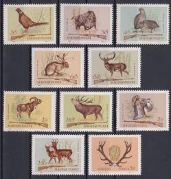 Poštovní známky Maïarsko 1964 Myslivectví Mi# 2079-88