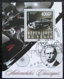 Poštovní známka Benin 2015 Automobil Mercedes-Benz 770K Mi# N/N
