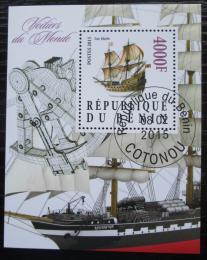 Poštovní známka Benin 2015 Plachetnice Mi# N/N