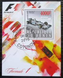 Poštovní známka Benin 2015 Formule 1 Mi# N/N